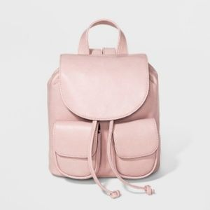 Wild Fable Blush Pink Mini Drawstring Backpack